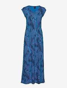 Ladies dress, Sembra - BLUE