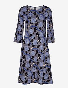 Ladies dress, Petunia - GREY