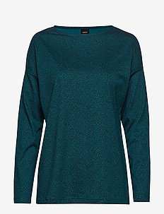 Ladies blouse, Riisi - swetry - petrol