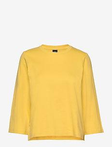 Ladies t-shirt, Blokki - YELLOW