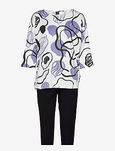 Ladies pyjamas, Aamu - WHITE