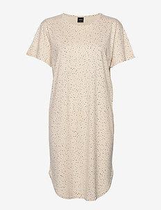 Ladies dress, Hiutale - NATURAL WHITE