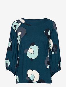 Ladies blouse, Talvikki - PETROL
