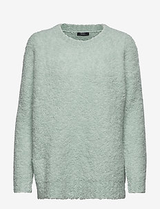 Ladies knit sweater, Naava - AQUA