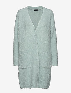 Ladies knit cardigan, Naava - AQUA