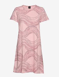 Ladies big shirt, Nietos - LIGHT PINK