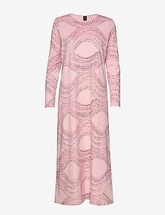 Ladies long nightgown, Nietos - LIGHT PINK