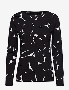 Ladies blouse, Lehmus - BLACK