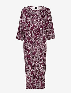Ladies kaftan, Hilkka - BURGUNDY