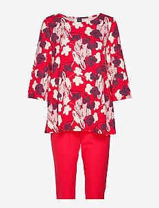 Ladies pyjamas, Halla - RED