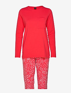 Ladies pyjamas, Kosmos - RED
