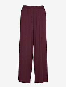 Ladies trousers, Hento - BURGUNDY