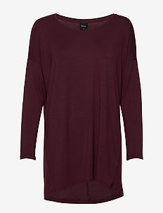 Ladies tunic, Hento - BURGUNDY