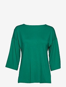 Ladies blouse, Tilia - t-shirty basic - green