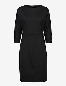 Ladies dress, Asta - BLACK
