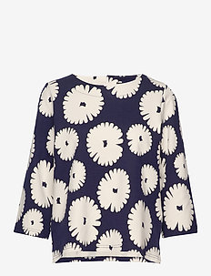 Ladies blouse, Mimosa - DARK BLUE