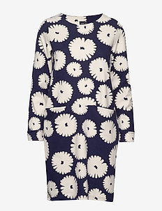 Ladies dress, Mimosa - DARK BLUE