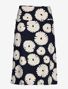 Ladies skirt, Mimosa - midi rokken - dark blue