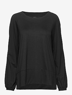 Ladies blouse, Oiva - BLACK