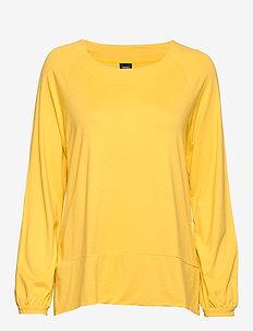 Ladies blouse, Oiva - YELLOW