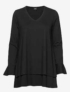 Ladies tunic, Oiva - BLACK