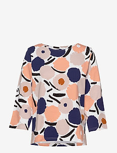 Ladies blouse, Leinikki - MULTICOLOURED