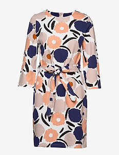 Ladies dress, Leinikki - robes midi - multicoloured