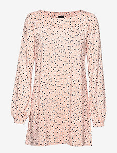 Ladies tunic, Dippi - long sleeved blouses - pink