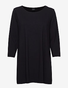 Ladies tunic, Aava - tuniques - black