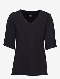 Ladies blouse, Aava - t-shirts - black