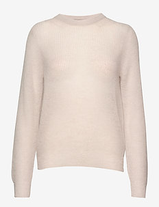 Ladies knit sweater, Kuura - BEIGE