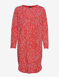 Ladies big shirt, Kosmos - RED