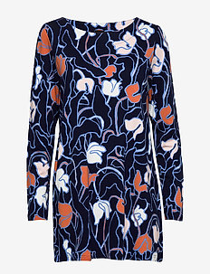 Ladies tunic, Iiris - natkjoler - dark blue