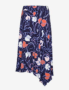 Ladies skirt, Iiris - jupes midi - dark blue