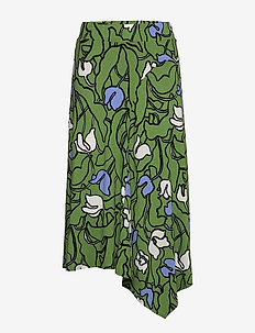 Ladies skirt, Iiris - midi rokken - green