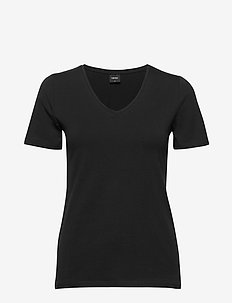 Ladies t-shirt, Basic - BLACK