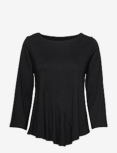 Ladies blouse, Lulu - BLACK