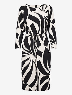 Ladies dress, Kaisla - robes midi - black
