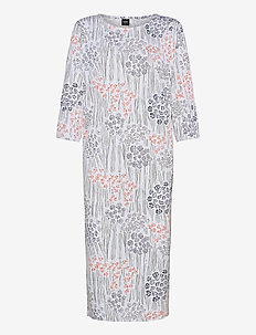 Ladies long nightgown, Kielo - natkjoler - white