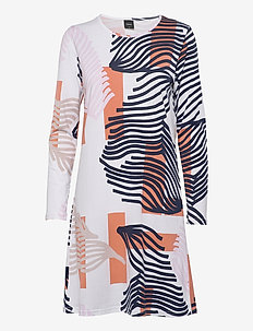 Ladies big shirt, Taival - midi dresses - multi-coloured