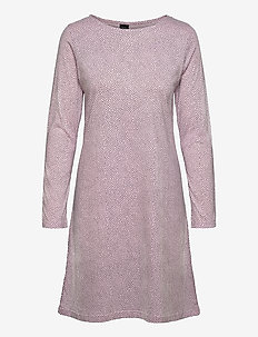 Ladies big shirt, Pilkut - midimekot - light pink