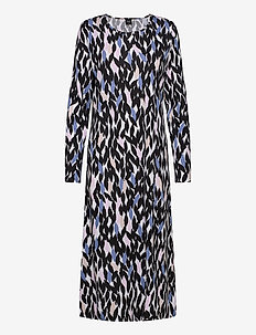 Ladies long nightgown, Havina - robes longues - multi-coloured