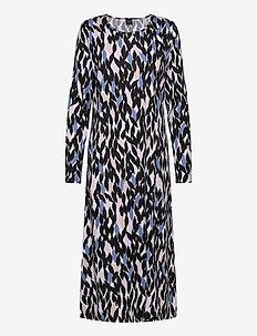 Ladies long nightgown, Havina - maxi kjoler - multi-coloured