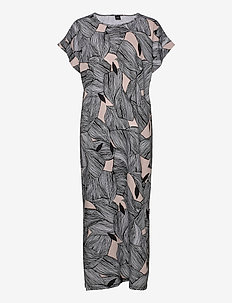 Ladies long nightgown, Punos - robes longues - multi-coloured