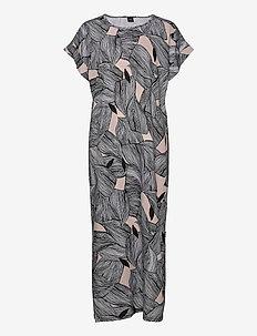 Ladies long nightgown, Punos - maxi kjoler - multi-coloured