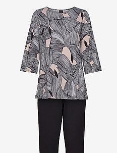 Ladies pyjamas, Punos - piżamy - multi-coloured