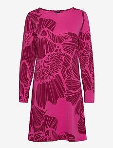 Ladies big shirt, Hely - nattkjoler - pink