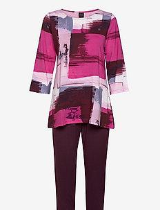 Ladies pyjamas, Maalaus - pyjamas - multi-coloured