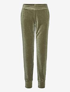 Ladies trousers, Valeria - sweatpants - olive green