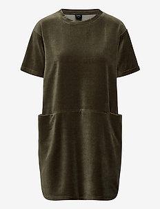 Ladies dress, Valeria - korte kjoler - olive green